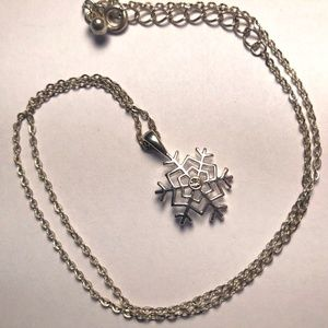 Target Snowflake Necklace